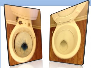 hard water toilet, soft water toilet